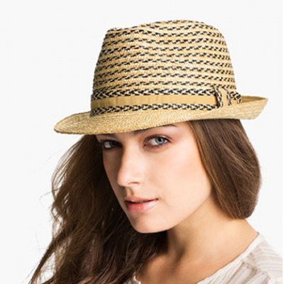 Plaited Fedora | LadyLUX - Online Luxury Lifestyle, Technology and Fashion Magazine