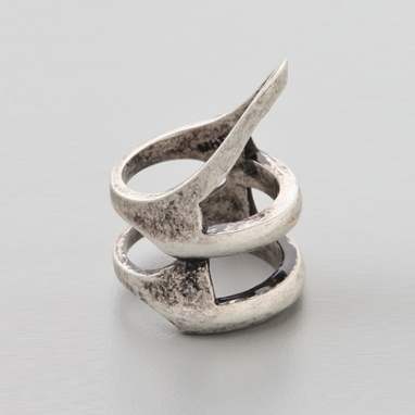 Stacked Helmut Ring