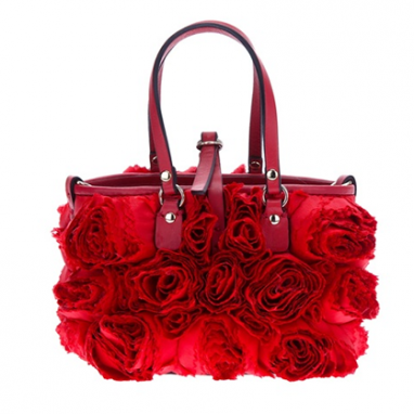 Red Rose Handbag