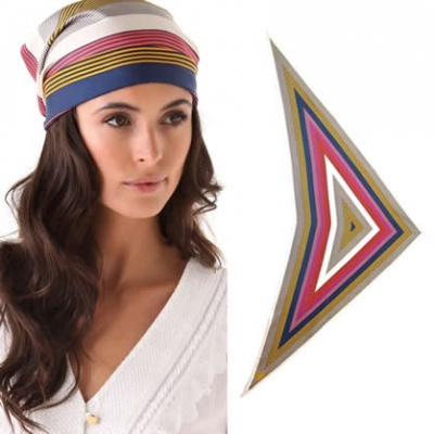 Tory Burch Fez Head Scarf | LadyLUX - Online Luxury Lifestyle, Technology and Fashion Magazine
