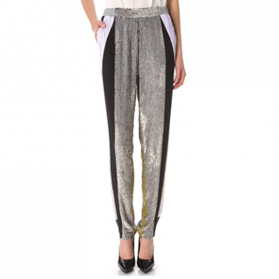 Sequin Sweatpants | LadyLUX - Online Luxury Lifestyle, Technology and Fashion Magazine