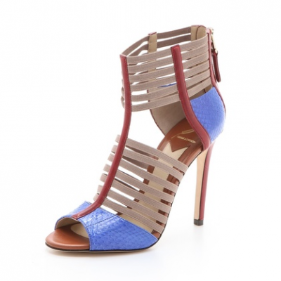 Colorblock Strappy Sandals | LadyLUX - Online Luxury Lifestyle, Technology and Fashion Magazine