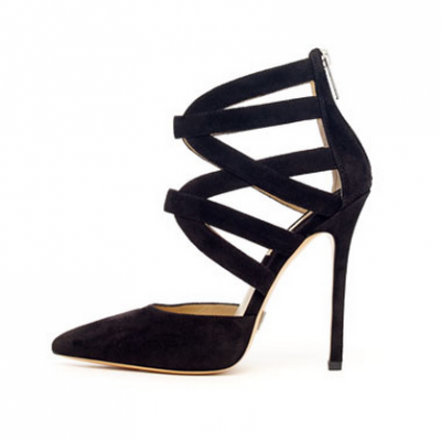 Strappy Suede Pumps | LadyLUX - Online Luxury Lifestyle, Technology and Fashion Magazine