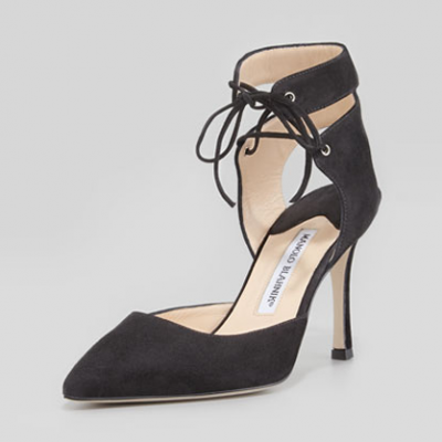 Laced Ankle Pumps | LadyLUX - Online Luxury Lifestyle, Technology and Fashion Magazine