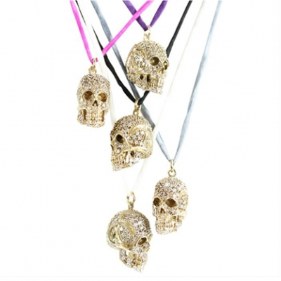 Skull pendant necklace by jessica kagan cushman ladylux online crystal skull pendant necklace by jessica kagan cushman ladylux online luxury lifestyle technology and fashion magazine mozeypictures Images