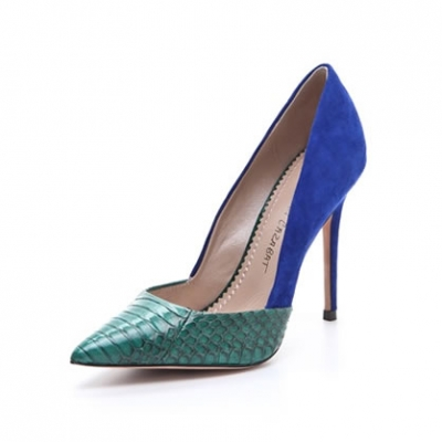 Two Tone Pumps | LadyLUX - Online Luxury Lifestyle, Technology and Fashion Magazine
