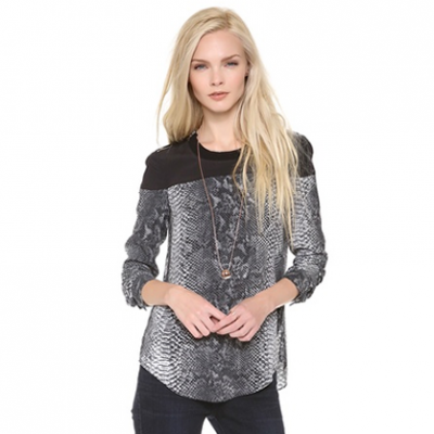 Python Blouse | LadyLUX - Online Luxury Lifestyle, Technology and Fashion Magazine