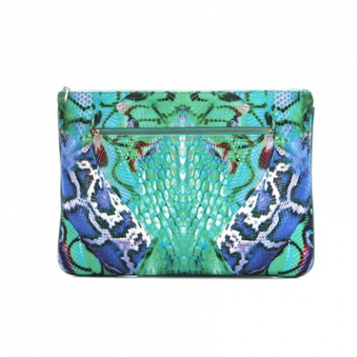 Snake Print Clutch | LadyLUX - Online Luxury Lifestyle, Technology and Fashion Magazine