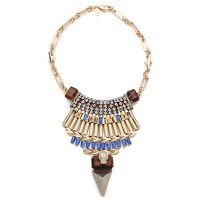 Leather Bib Necklace | LadyLUX - Online Luxury Lifestyle, Technology and Fashion Magazine