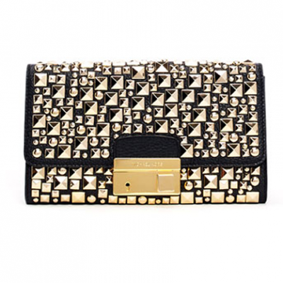 Studded Leather Clutch | LadyLUX - Online Luxury Lifestyle, Technology and Fashion Magazine