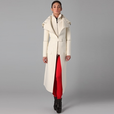 Felt Trench Coat | LadyLUX - Online Luxury Lifestyle, Technology and Fashion Magazine