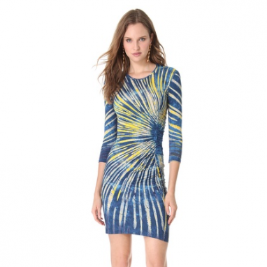 Tie Dye Sheath Dress