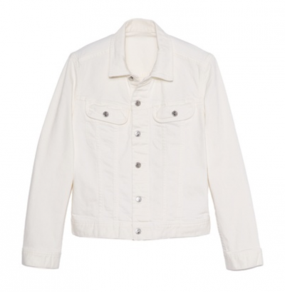 White Denim Jacket | LadyLUX - Online Luxury Lifestyle, Technology and Fashion Magazine