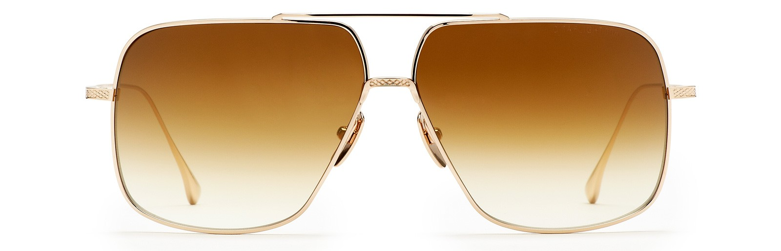 0d6142bdcbb Shop  Dita flight 005 Aviators in Gold