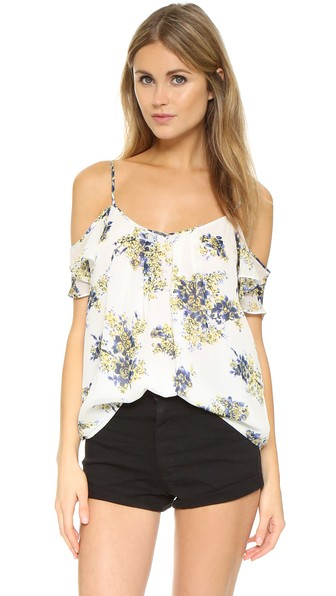 Silk Floral-Print Top | LadyLUX - Online Luxury Lifestyle, Technology and Fashion Magazine