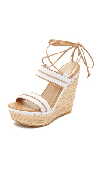 Ankle-Wrap Wedge Sandal | LadyLUX - Online Luxury Lifestyle, Technology and Fashion Magazine
